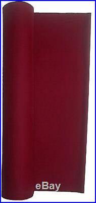 Wine Worsted Fast Speed Pool Table Felt Billiard Cloth For 8'' Tables 120 X 61