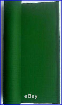 Worsted English Green Fast Speed Pool Table Felt Billiard Cloth For 7 ' Table