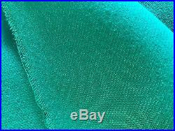 Worsted Wool GREEN Pool Table cloth for 9ft 8ft & 7ft Tables (fasted cloth)