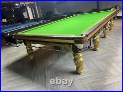 Xingpai Snooker Table 12ft Full Size + LED LIGHT. STEEL BLOCK CUSHION