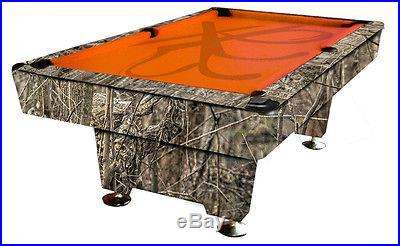 Xotik Exotic Custom Rare Pink Tree Camouflage Billiards Pool Table Duck Hunting