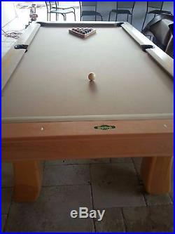 Yancey 2 Pool Table with Ping Pong Attachment